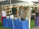ACPC booth with artists Shelia Brown, Dave Cerbone, Rob Riffe, Rick Bisgyer and Gail Anderson